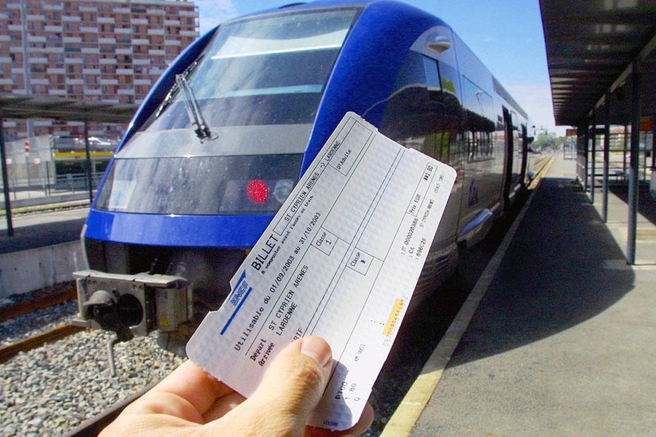 Des économies sur vos billets de train