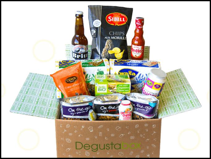 Dégustabox : une box pour les gourmands et les gourmandes !