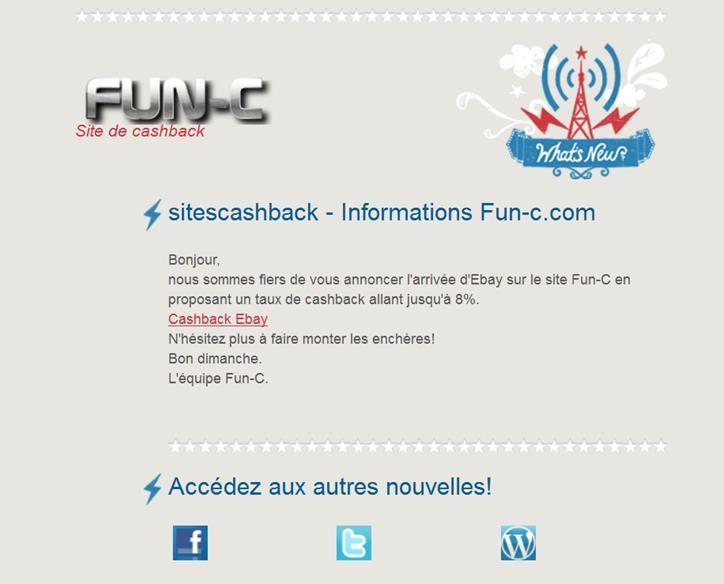 EXCLU : FUN-C annonce l'arrivée du cashback sur Ebay