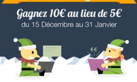 La prime de parrainage Mailorama à 10 € jusqu'au 31 janvier 2017