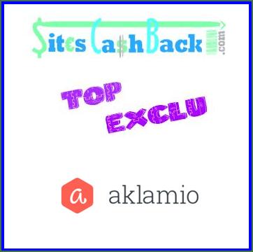 Aklamio : le site de cashback et de recommandation