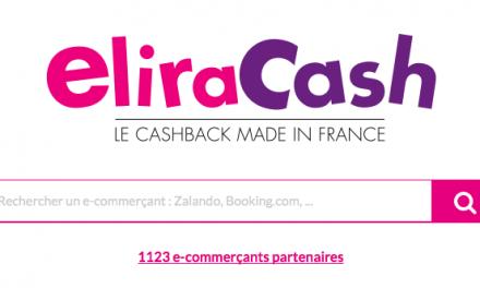 Eliracash, un bon site de cashback made in france