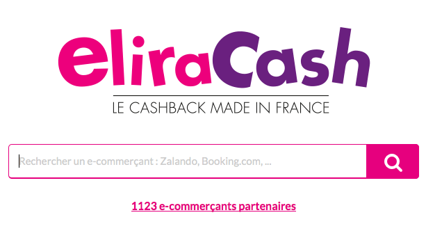 Eliracash, un bon site de cashback made in france