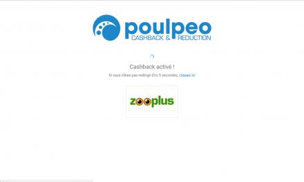 Comment faire un cashback poulpeo – exemple avec le marchand zooplus