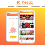 Keetiz, mon avis sur l'application qui va révolutionner le cashback