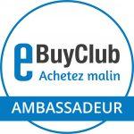 Sitescashback devient ambassadeur Ebuyclub = un bonus de 5 € pour vous