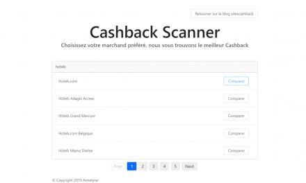 Le cashback scanner : un comparateur pour trouver les meilleurs taux de cashback