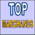 La liste des principaux sites réunis dans notre panier top marchands