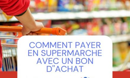 Tuto : comment payer en caisse avec les bons d'achats Carrefour achetés avec cashback