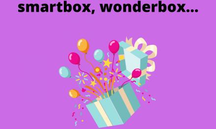 Payer son coffret cadeau wonderbox ou smartbox 12% moins cher avec le cashback bon d'achat