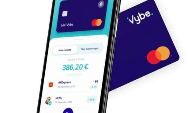 Mon avis sur Vybe la banque des jeunes ados et son offre cashback